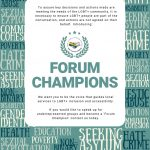 Recruiting for Forum Champions